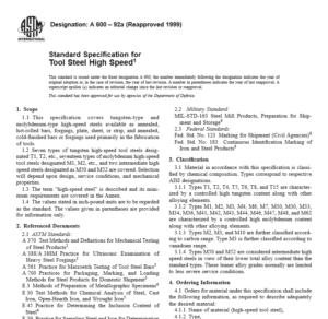 ASTM A 600 – 92a pdf free download