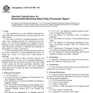 ASTM A 677 A 677M – 99 pdf free download