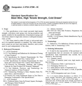 ASTM A 679 A 679M – 00 pdf free download