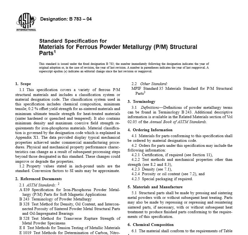 ASTM B 783 – 04 pdf free download - WorldWide Civil