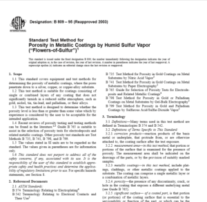 ASTM B 809 – 95 pdf free download