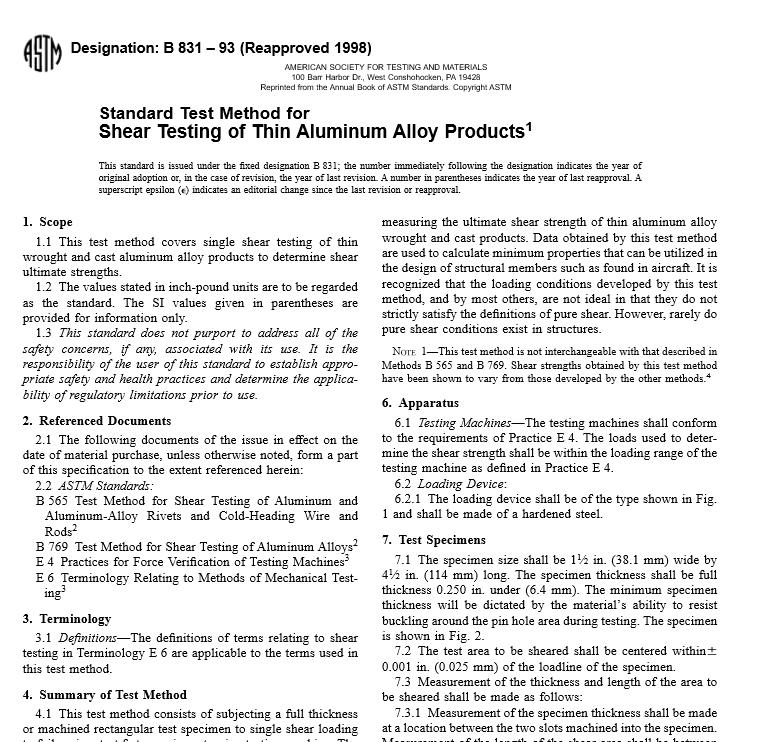 ASTM B 831 – 93 pdf free download - WorldWide Civil