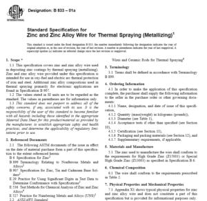 ASTM B 833 – 01a pdf free download