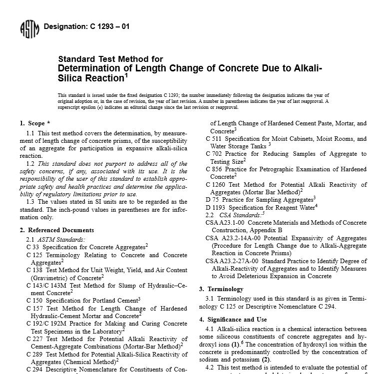 ASTM C 1293 – 01 pdf free download - WorldWide Civil