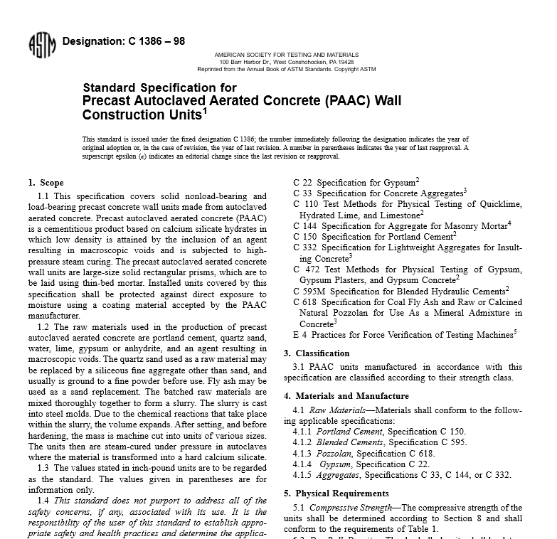 ASTM C 1386 – 98 pdf free download - WorldWide Civil
