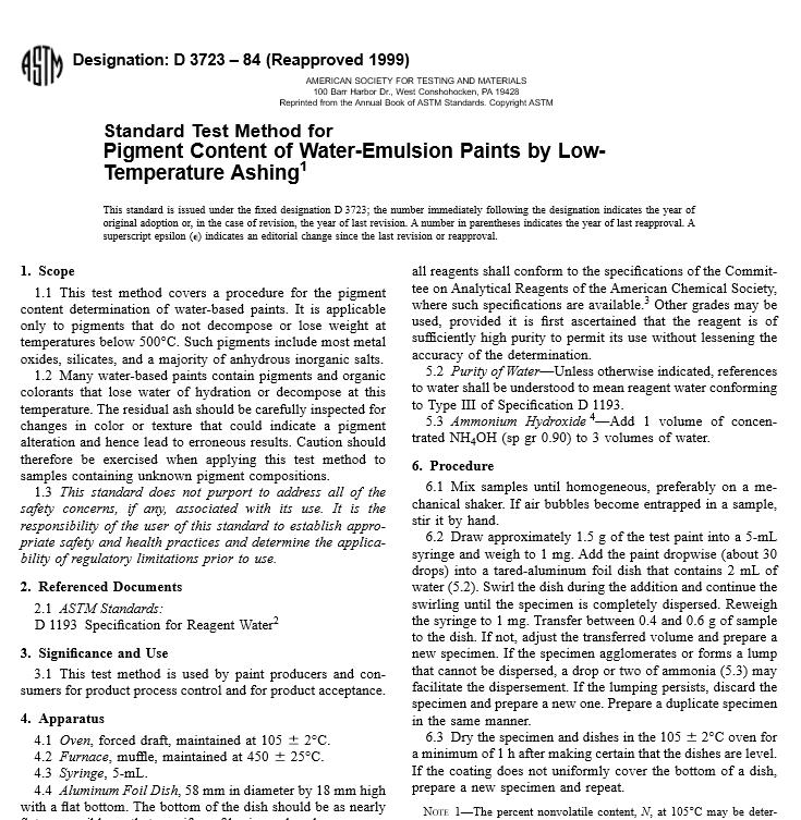 ASTM D 3723 – 84 pdf free download - WorldWide Civil