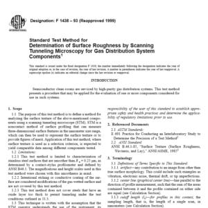 ASTM F 1438 – 93 pdf free download